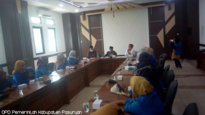 Audiensi Penanganan COVID19 KOPRI PMII Putri Bersama Ketua Satgas dan Anggota DPRD