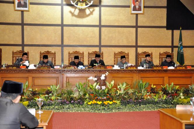 Serah Terima Jabatan Bupati Pasuruan Masa Jabatan 2018-2023 dan Rapat Paripurna Istimewa DPRD Kabupaten Pasuruan Tahun 2018